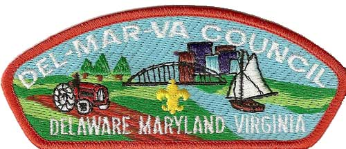DelMarVa Coucil Patch
