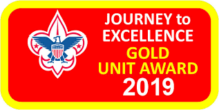 A Journey to Excellence Gold Troop